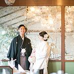 ザ ソウドウ ヒガシヤマ キョウト(THE SODOH HIGASHIYAMA KYOTO):古都の魅力が色濃く残る東山で、贅を尽くした美食のおもてなし。県外ゲストが旅行気分で楽しめる結婚式