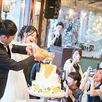 ザ ソウドウ ヒガシヤマ キョウト(THE SODOH HIGASHIYAMA KYOTO):「ゲストが楽しめるように」と余興はゼロに!ケーキを使った珍しい演出やフォトラウンドで感動を共有した