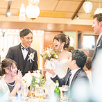 ザ ソウドウ ヒガシヤマ キョウト(THE SODOH HIGASHIYAMA KYOTO):納得いくまで考える時間をくれたプランナーのおかげで、最高の結婚式に。カメラマンの提案力にふたりも感激