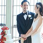 ザ ソウドウ ヒガシヤマ キョウト(THE SODOH HIGASHIYAMA KYOTO):お互いへの愛情をこめたファーストバイトや会場名物のイチゴ大福に、幸せの甘い笑顔が広がったパーティ