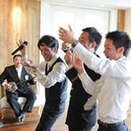 北野クラブ・ソラ KITANO CLUB SOLA:屋内ガーデンをフル活用してゲスト全員と分かち合った楽しい時間に、笑顔と拍手、歌声が広がった