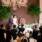 サー ウィンストン ホテル 名古屋 by ストリングス:音楽から装飾、ケーキまで、トータルコーディネート!映画の世界に誘って、ゲストの笑顔を引き出した