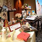 名古屋東急ホテル:ふたりらしさを取り入れたウエルカムスペースは「素敵!」と大好評。料理もゲストの満足感を考えた内容に
