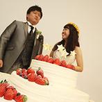アンジェローブ (Wedding Island Angerobe):テーマの『星』で埋め尽くしたオリジナリティあふれる空間。ゲストから「こんなパーティ初めて」の声も