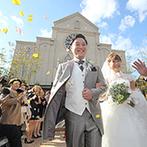 アンジェローブ (Wedding Island Angerobe):広大なガーデンを貸切にして、外国映画のようなパーティを。緑に囲まれた夢のような空間に一目惚れ