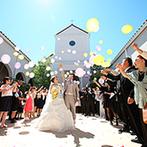 EXEX SQUARE (旧 リュクスガーデン岐阜):豊富な演出と会場の自由度の高さが大きな魅力に。ココでならイメージしていた結婚式が実現すると思い決定!