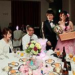 タカクラホテル福岡:「こんなの初めて見た!」とゲストもワクワク。不思議な仕掛けが楽しいテーブルラウンド演出が大好評