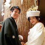 ベルクラシック神戸:和心あふれる神殿やシックな披露宴会場の雰囲気がふたり好み。温かさを感じるおもてなしも決め手に
