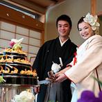 KKRホテル金沢:新緑が輝く庭園を望む和の空間にオリジナルの寿司ケーキが登場!料理には加賀の伝統的な一品もあって大好評