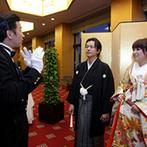 ホテルオークラ神戸:このホテルを選んでよかったとしみじみ思う質の高いスタッフ達。おかげでふたりの理想以上の結婚式が叶った
