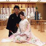 御宿 東鳳:おもてなしに欠かせない、充実した宿泊部屋や温泉を備えていること&ステキな挙式が叶う神殿に惹かれた