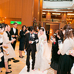 御宿 東鳳:名湯のおもてなしもできる老舗ホテル。最上階の絶景バンケットや白で統一された美しいチャペルに惹かれた