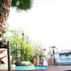 ラ・ルーチェ デル ソーレ:生まれ変わったリゾート感たっぷりの会場を見学。ガーデン付きパーティ会場の雰囲気に心を奪われた