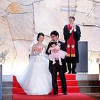 Mia Via:プライベート感溢れる空間で、ゲストと楽しむアットホームな結婚式が理想。神聖なチャペルに惹かれて決定!
