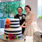 Mia Via:オリジナルのボーダーケーキはインパクト大!素材にこだわったイタリアンにおすすめの日本酒を合わせて