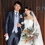 Mia Via:先輩花嫁でもあるプランナーが親身にサポート。ドレスも幅広いデザインから、運命の一着を選ぶことができた