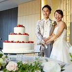 ウェスティン都ホテル京都:ふたりが好きなモチーフを随所に取り入れた披露宴。キャラクターの形の装花や食材がゲストの目を楽しませた