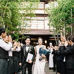 FUNATSURU KYOTO (国登録有形文化財):スタッフの高い提案力のおかげで、衣裳やヘアメイクも理想通り。遠距離でも安心して準備を進められた