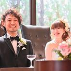 Wedding World ARCADIA SAGA(ウェディングワールド・アルカディア佐賀):高くそびえる劇場型チャペルの大スケール、最新鋭の演出の数々に感動!スタッフの親身な対応にも安心できた