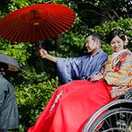 響 風庭 赤坂(HIBIKI):艶やかな和装に身を包む神社挙式もバックアップ。人間味にあふれ、真摯に対応してくれるスタッフが決め手