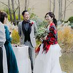 響 風庭 赤坂(HIBIKI):プロのサポート力とアレンジ力で、ふたりの想いを最善の形に。両親やゲストも安心してサービスを受けられた