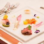 ディアズ水戸スパニッシュガーデン:おもてなしにこだわり、一から創りあげた絶品料理の数々。美食とともに歓談を楽しむ、至福のひと時となった