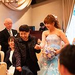 ディアズ水戸スパニッシュガーデン:ふたりの都合を最優先に、常に笑顔で迎えてくれたスタッフたち。子ども連れの結婚式も安心感に満ちていた
