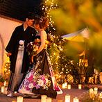 ディアズ水戸スパニッシュガーデン:結婚式でやってみたいことがあれば早めに相談し、実現の方向へ。子どもがいるからこそ幸せの結婚式を叶えて