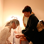 アジュールひたちなかウエディングヴィラ:母と娘の想いを大切にした挙式。愛する人と家族になることの意味、家族への感謝を噛みしめることができた