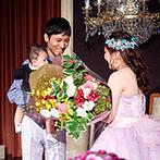 ホテルモントレ グラスミア大阪:赤ちゃんを授かったふたりを祝福し、最善の提案をしてくれたプランナーたちのおかげで無事にお披露目できた