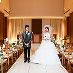 リアン トゥール:先輩カップルから好評のゲストハウス。明るいチャペル&披露宴会場はふたりの思い描く結婚式にぴったり