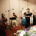 ヒルトン大阪:生演奏が醸し出す優雅でくつろぎに溢れる時間。スピーチを少なめにして余興や演出でパーティを盛り上げた