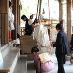 柳川藩主立花邸 御花 since1738:憧れだった和装での結婚式が引き立つ建物に魅了。歴史を重ねた本物の雰囲気や美味しい料理が大きなポイント