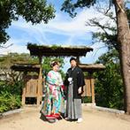 柳川藩主立花邸 御花 since1738:由緒正しい柳川藩主邸での和の結婚式は、ゲストの心に残るはず。フェアでの試食や花嫁舟体験で確信した