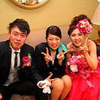 琵琶湖ホテル:しっかりサポートしてくれたスタッフに感謝の気持ちでいっぱい。衣裳スタッフの配慮で憧れの花嫁姿が実現