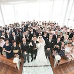 ガーデンテラス長崎 ホテル&リゾート:いつも新郎新婦がお互いに納得できる答えへ導いてくれたプランナー。美味しい料理のおもてなしも大成功!