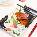 KAWACHIYA:ゲストの会話を弾ませた美食のおもてなし。素材の味を活かしたこだわりのメニューは、元料亭のなせる技