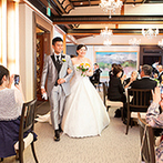 KAWACHIYA:結婚式のマナーなどもプランナーが的確にアドバイス。どんなことにも目が届く、細やかな対応に助けられた