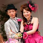 ブライダルヴィレッジ ティンカーベル:貸切の邸宅を自由に飾って個性豊かなおもてなし。ゲスト思いのふたりらしさが伝わる、絆を感じるパーティに