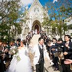 セントグレース大聖堂 the Garden by NEXT WEDDING:プランナーとしっかり相談しながら、卒花やプレ花嫁の声も参考に。楽しみながら準備を進める気持ちが大切