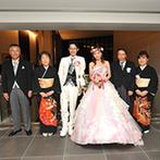 W THE STYLE OF WEDDING:丁寧な打ち合わせはもちろん、結婚式直前のアクシデントにも柔軟に対応してくれたサポート力に感激