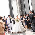W THE STYLE OF WEDDING:ふたり好みのオシャレな空間にテンションUP。美味しい料理や親身なスタッフの対応が決め手になった