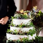 マリエール神水苑:250名まで招待できる『プレシャスホール』がパーティの舞台。ふたりのセンスが光る装飾やケーキが話題に