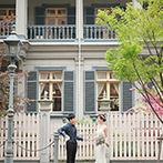 オリエンタルホテル 神戸・旧居留地:大切な思い出を重ねた、神戸のホテルでの結婚式。レトロな空間とふたりの想いを最大限に生かしたおもてなし