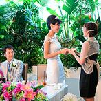 THE CLASSICA BAY RESORT (ザ クラシカ ベイリゾート):ゲストとふれあいたいカップルは進行に工夫を。ウエルカムパーティなど、歓談できる演出を取り入れてみよう