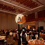 ララシャンス ベルアミー:リゾートのようなパーティ会場でゲストに美食のおもてなし。スタッフの人柄に魅了されて、この会場に決定