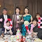 GRANDAIR(グランディエール):好みを引き出し提案してくれたプランナーとスタッフ。衣裳やメイク、装花など理想以上の結婚式が実現した