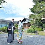 三瀧荘:歴史ある日本建築をモダンに生まれ変わらせた会場と庭園が魅力。定評のある料理やスタッフの対応も決め手