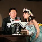 グランパルティいわき:愉快で明るいスタッフとの打ち合わせはいつも大盛りあがり!誕生月のサプライズケーキもすごく嬉しかった