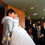 KATSUTAYA(勝田屋記念会館):自分たちらしさにとことんこだわりたいふたり。アイデア豊富なプランナーの提案に魅了され、初対面で即決!